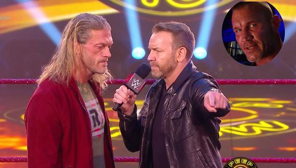 Christian sacó el fuego interior de Edge. (WWE)