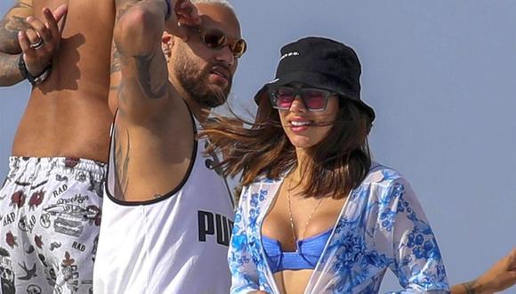 Neymar sale con joven que no solo se parece a su ex, también se llama Bruna (Foto: GTRES)