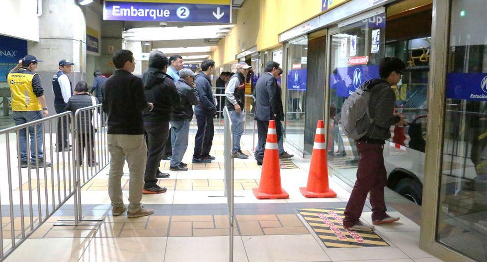 Mañana, feriado por Santa Rosa de Lima, el Metropolitano solo funcionará con sus rutas A, B y C. (Foto: Protransporte)
