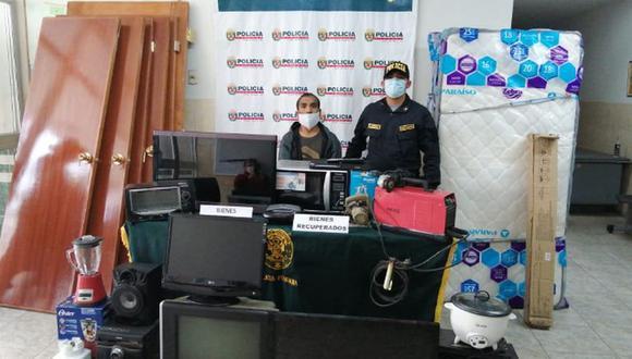 'Chómpiras' fue detenido por la PNP en San Bartolo. (PNP)