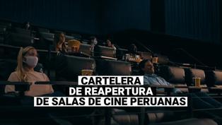 cartelera de reapertura que ofrecerán los cines para el 5 de agosto