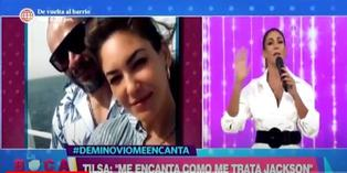 """Tilsa Lozano sobre su relación con Jackson Mora: """"A mí me gustan los hombres feos, me encanta cómo me trata"""""""