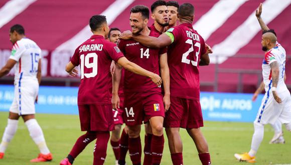 Venezuela venció a Chile por Eliminatorias Qatar 2022. (Foto: La Vinotinto)