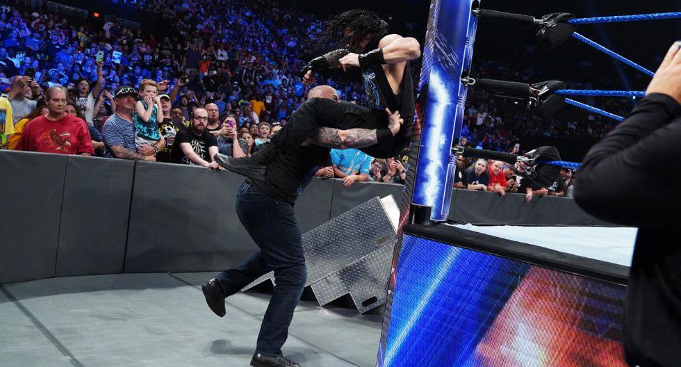 Erick Rowan está fuera de control (Redes sociales WWE)