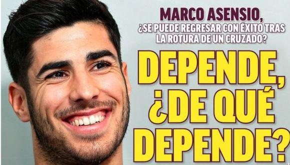 Portada de diario español recibió críticas por homenaje a Pau Donés. (Foto: Marca)