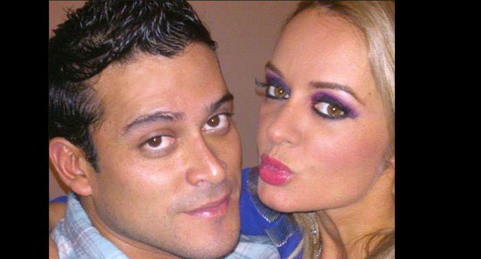 Christian Domínguez y Jeannine Gonzáles