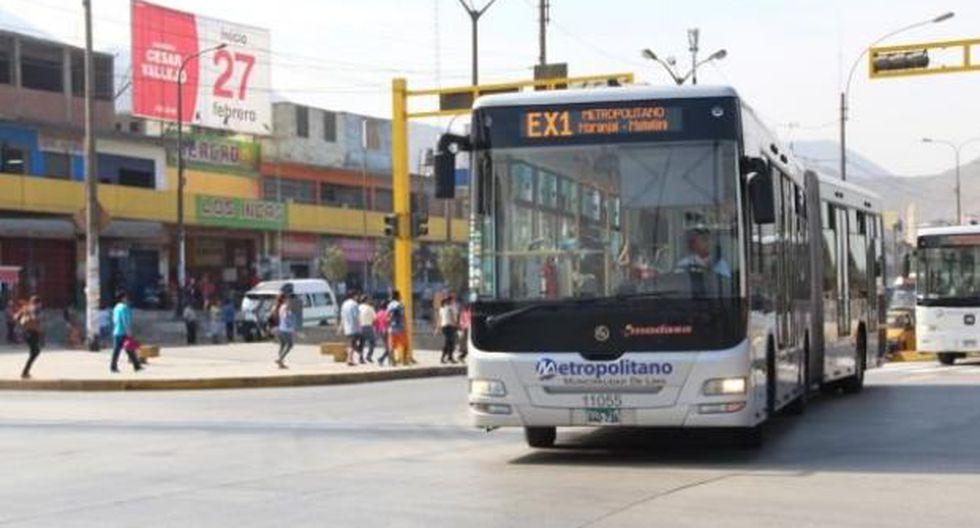 Culminar el tramo hasta Carabayllo. El alcalde Muñoz dijo que conversa con los ministerios de Transportes y Comunicaciones, Vivienda, y Economía y Finanzas para ampliar la vía troncal del Metropolitano. (Foto: Andina)