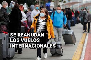 Vuelos internacionales se reanudarán este 05 de octubre con estrictos protocolos de seguridad