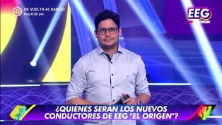 """Gian Piero Díaz sobre la posibilidad de conducir 'EGG' con Renzo Schuller: """"No tendría ningún problema"""""""