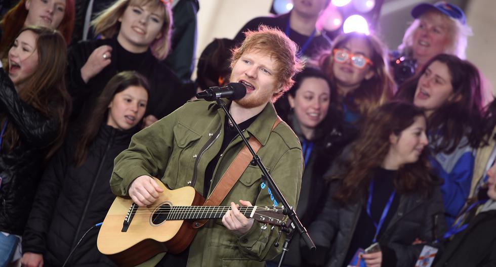 Ed Sheeran en Lima