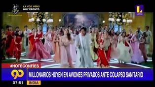 India: Actores de Bollywood y magnates se refugian en el extranjero ante crisis por COVID-19