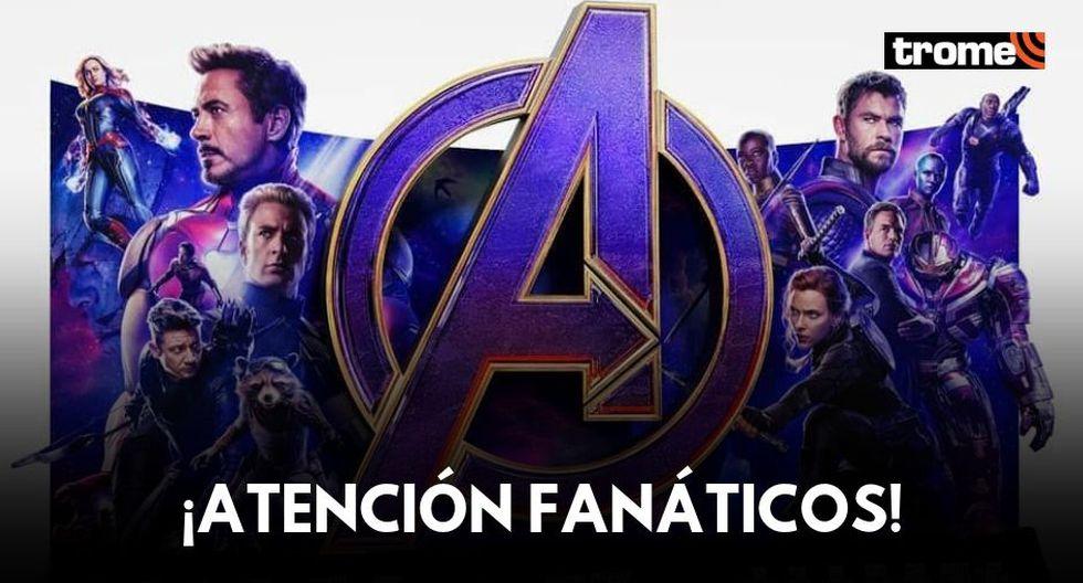"""""""Avengers: Endgame"""": Este lunes se anunciará la fecha de la preventa de entradas en Perú"""