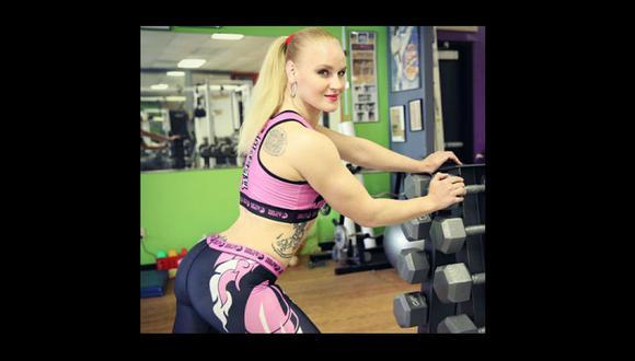 Valentina arranca suspiros en las redes sociales (Instagram Valentina Shevchenko)