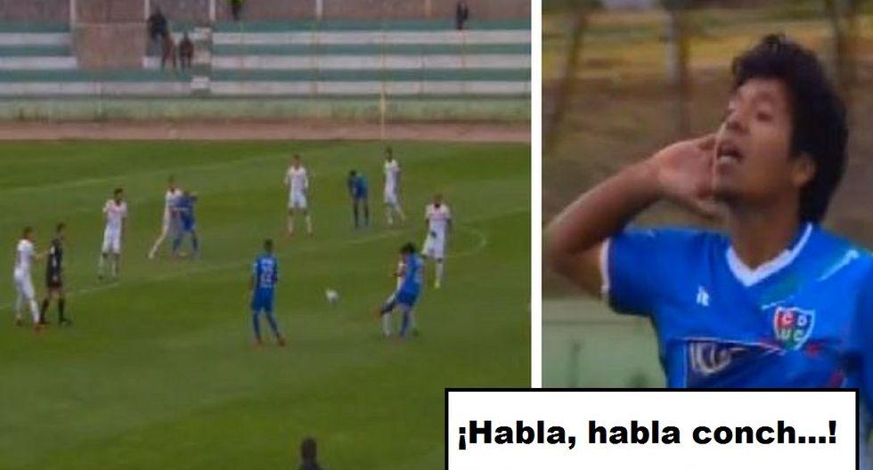 Willyan Mimbela marcó golazo y celebró insultando a la tribuna en Unión Comercio vs Ayacucho FC ¿Qué pasó?