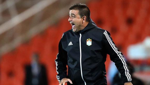 Claudio Vivas, técnico de Sporting Cristal