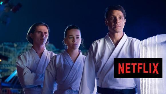 Las dos primeras temporadas de Cobra Kai están entre los estrenos del viernes 28 de agosto en Netflix (Foto: Netflix)