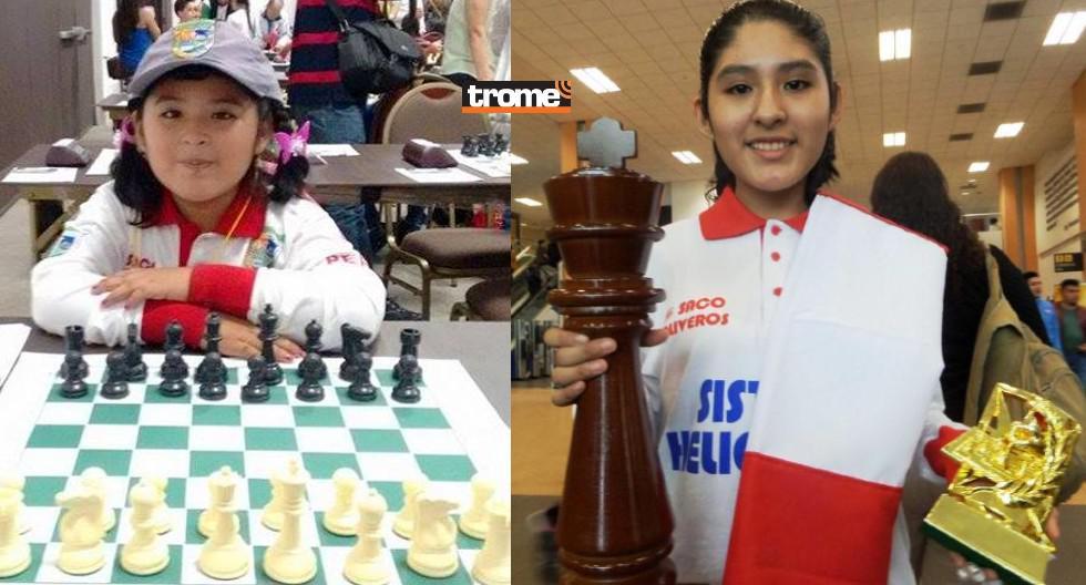 Peruanita de 14 años se corona tetracampeona panamericana de ajedrez