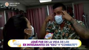 """Christian Domínguez revela que la pasó mejor en EEG que en Combate: """"Tenía más tiempo para maquinar cómo pelearme"""""""