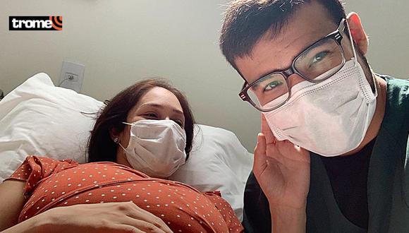 Karen Schwarz llegó a clínica de urgencia