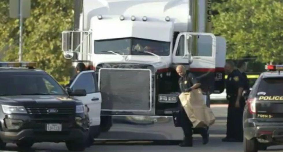 En el camión iban escondidos 39 inmigrantes que eran trasladados a Estados Unidos.