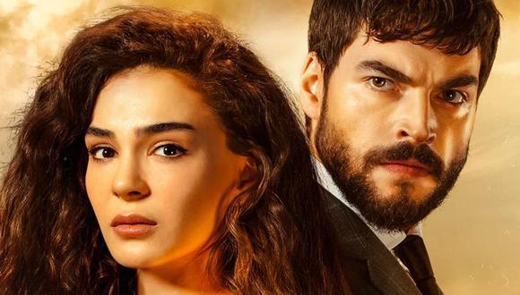 Reyyan y Miran, interpretados por los actores Ebru Sahin y Akın Akınözü (Foto: ATV)