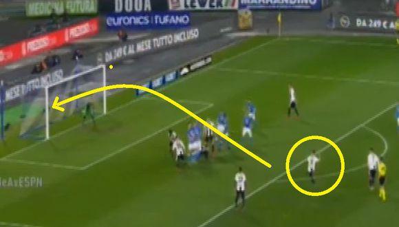 Gol 1 de Juventus
