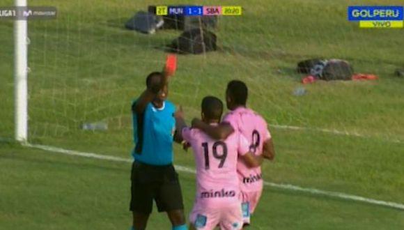Sport Boys marca su primer gol en el Apertura tras 512 minutos y Luis Peralta celebra, lo expulsan y pierden