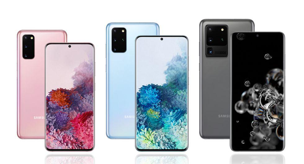 ¿Cuánto podrían costar el Samsung Galaxy S20 y sus variantes en Perú? (Foto: Samsung)