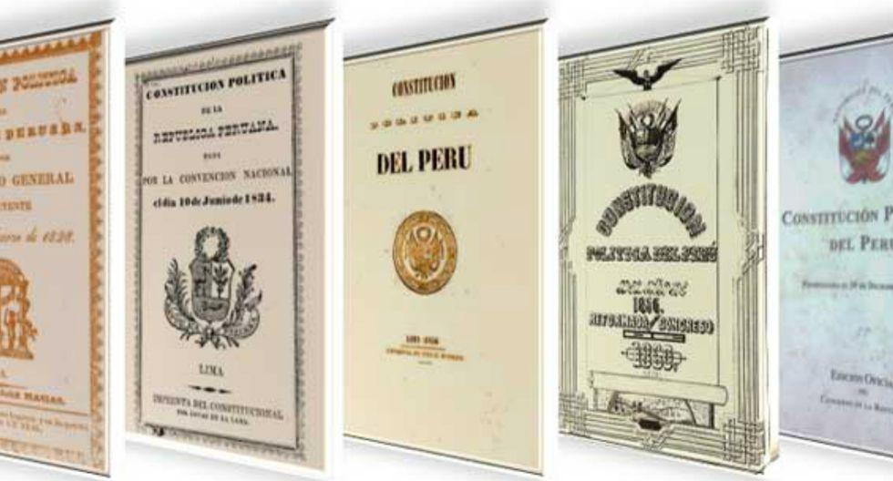Cuatro Constituciones del Perú originales se esfumaron del archivo del Congreso y nadie sabe dónde están. (Fotos: USI/Internet)
