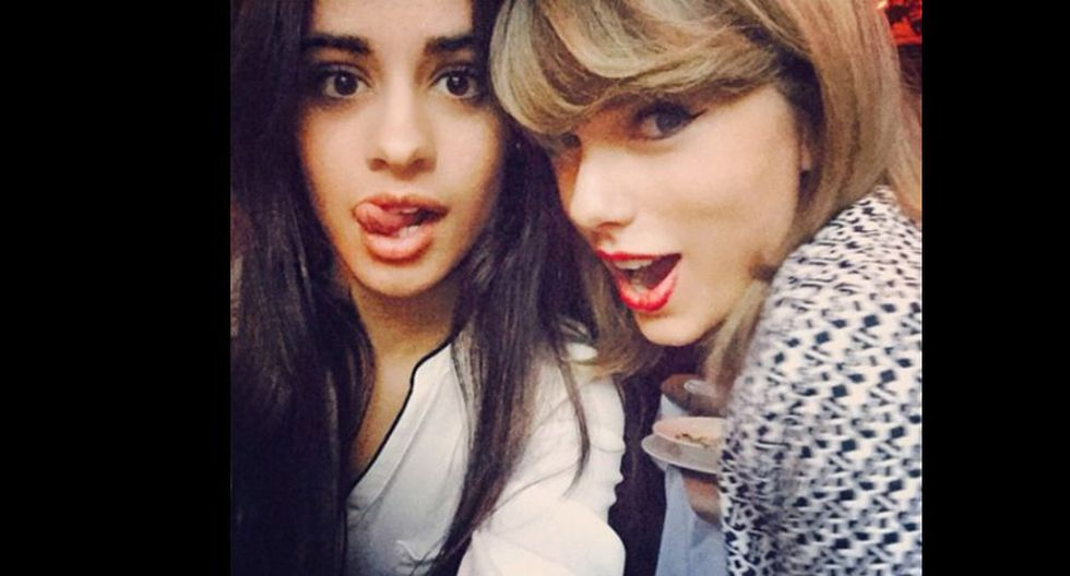 Camila Cabello y Taylor Swift