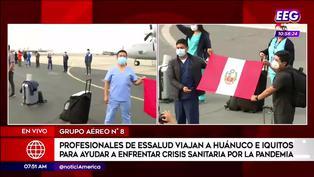 Jóvenes médicos viajan a Huánuco y Iquitos para hacerle frente a la pandemia