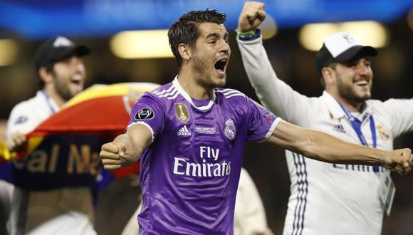 """Milan confirmó interés por Álvaro Morata, pero con """"condiciones"""""""
