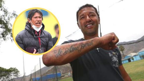 'Chorri' levantó el codo para hablar de la Libertadores (Foto: GEC)