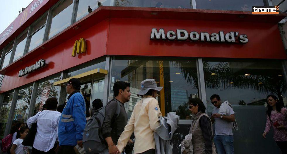 Sunafil detectó seis faltas graves en local de Pueblo Libre de McDonald's. (TROME)