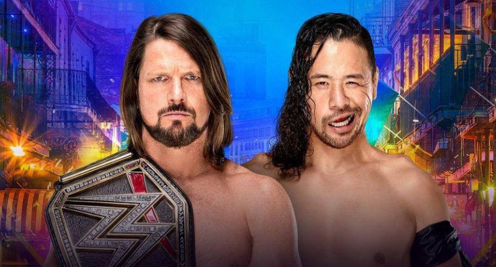 Todas las incidencias de WWE Wrestlemania 34. (Fotos: WWE)