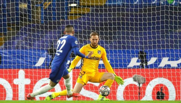 Chelsea abre el marcador ante Atlético Madrid (Foto: AP)
