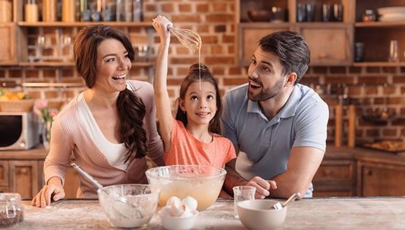 Receta de postres que puedes preparar en familia.