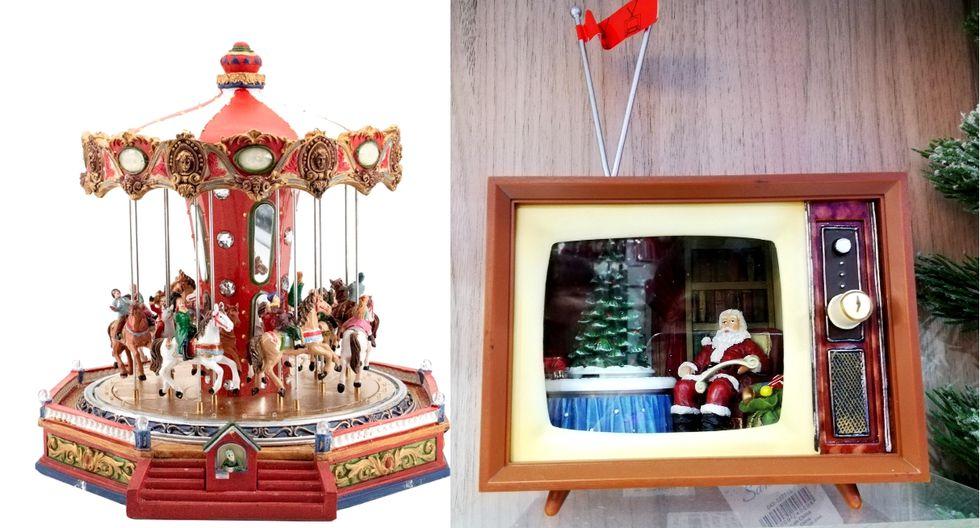 El carrusel y el televisor vintage son lo más novedoso de este año. (Foto: Difusión/ Samantha Aguilar)