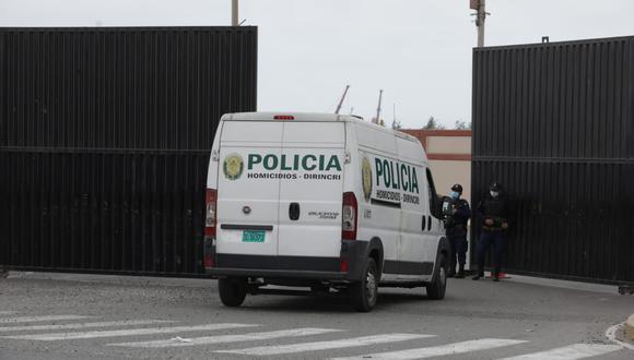 Abimael Guzmán Reinoso, cabecilla de la organización terrorista Sendero Luminoso, falleció en la Base Naval del Calao. (Foto: Britanie Arroyo / @photo.gec)