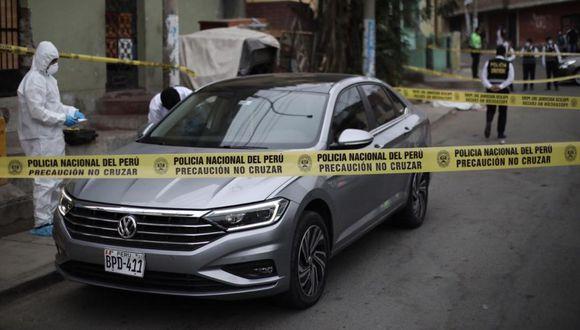 Matan a hombre frente a su esposa por resistirse a asalto en San Juan de Lurigancho | Foto: Joel Alonzo/GEC