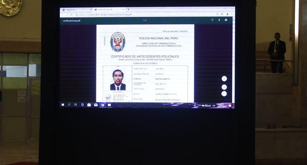 La PNP puso en marcha el servicio de emisión de Certificado de Antecedentes Policiales Digital (CERAP Digital), para el uso en todo el país. (Fotos: César Campos)