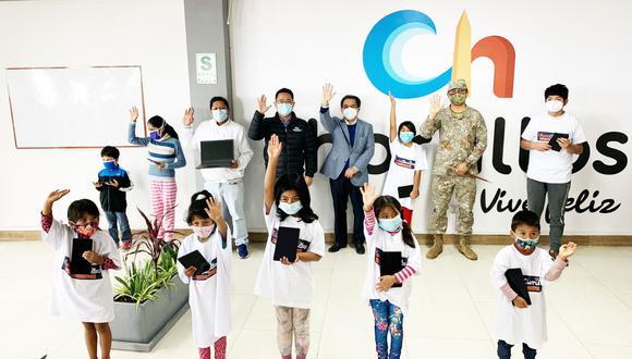 Niños y adolescentes se verán beneficiados con el programa 'EducaChorrillos'. (Difusión)