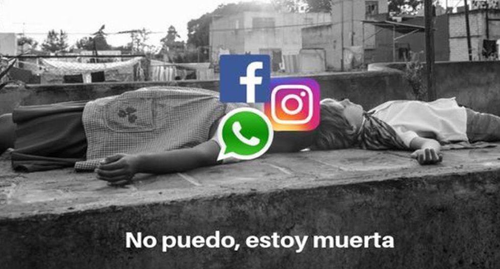 Memes de la caída mundial de Facebook, Instagram y WhatsApp