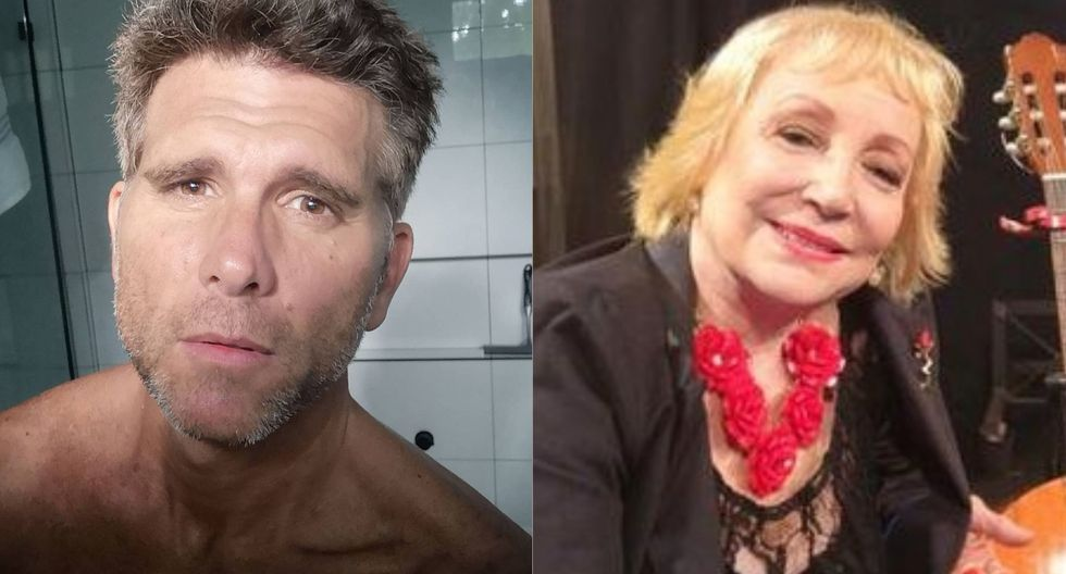 Christian Meier y Mirtha Patiño (Foto: Instagram)