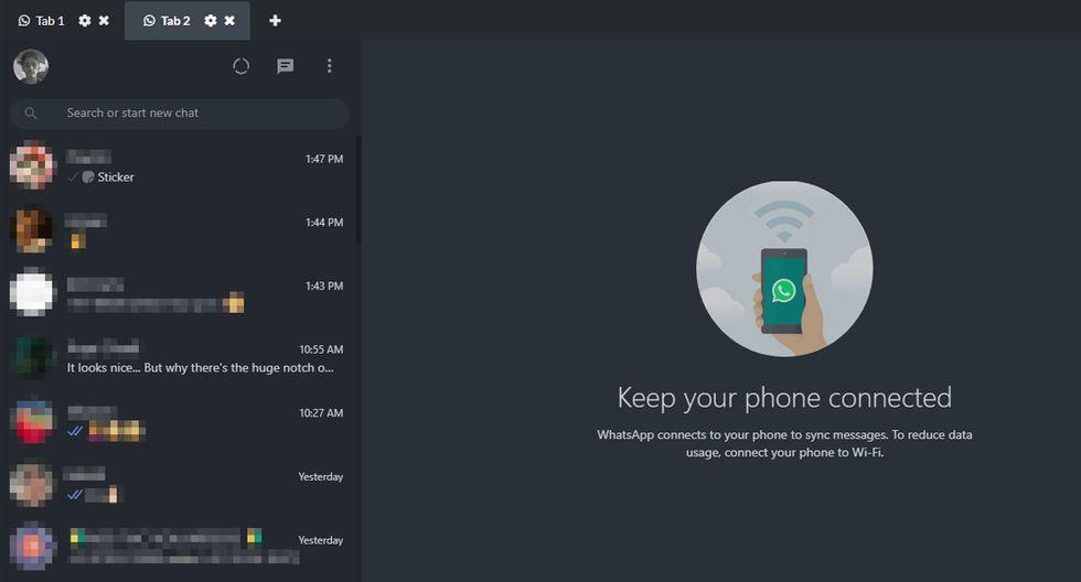 """¿Quieres activar el """"modo oscuro"""" de WhatsApp Web? Sigue estos pasos para poder tenerlo antes que todos. (Foto: WhatsApp)"""