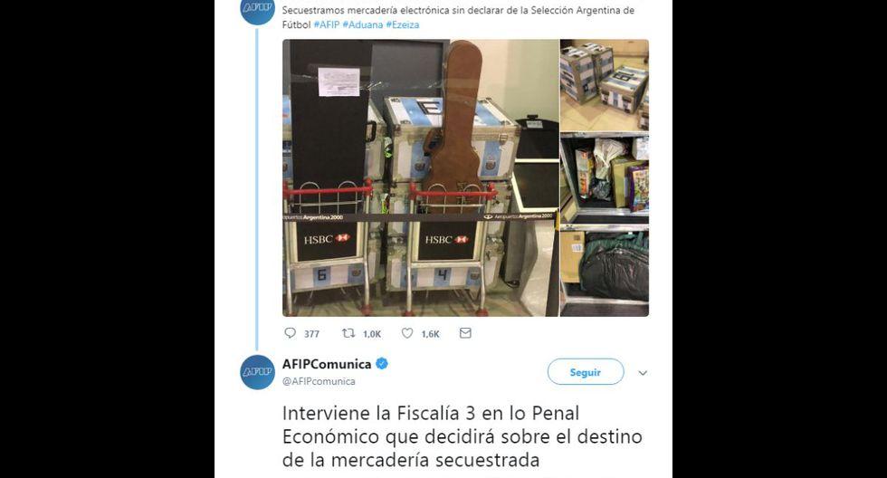 ¡Escándalo en selección argentina! Incautan baúles llenos de mercadería y acusan de contrabando a la AFA