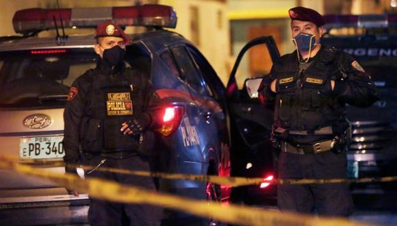 Joven de 22 años fue asesinado en los exteriores del Mercado Mayorista de Santa Anita. (Foto: César Grados)