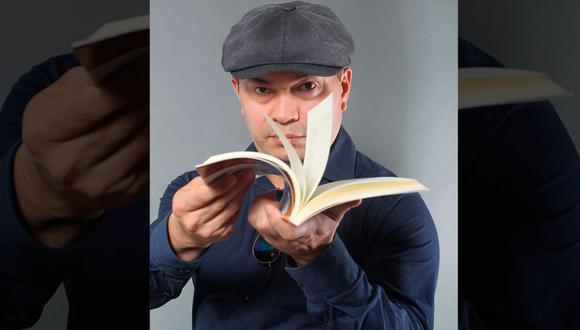 El escritor peruano Pedro Novoa ganó 24 premios en concursos literarios. En menos de un año le ha tocado superar al Covid-19 y enfrentar un cáncer avanzado al colon. (Foto: Alessandro Currarino / Archivo GEC)