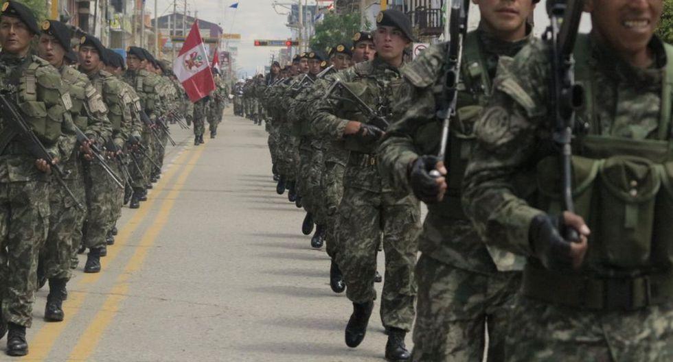 Ejército Peruano (Foto referencial) -  GEC