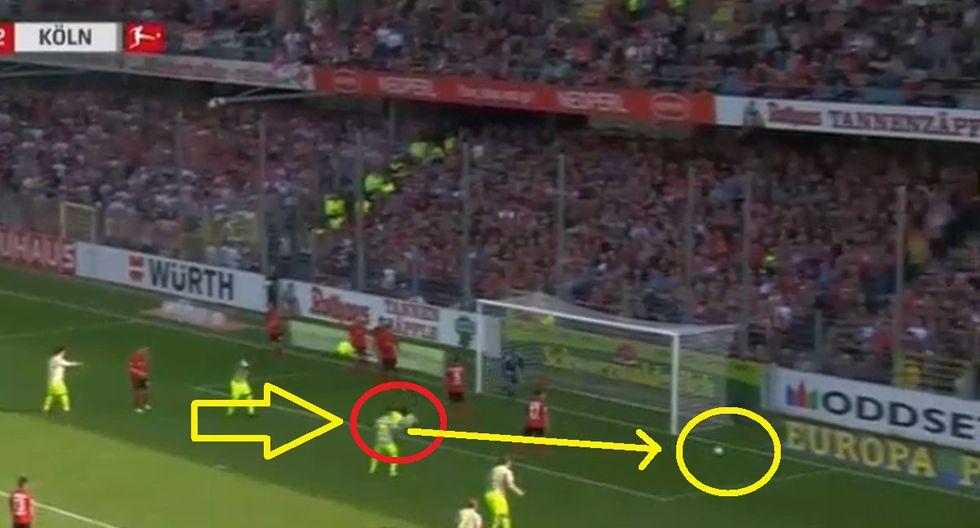 Claudio Pizarro y el gol que falló, que nadie vio y que pudo cambiar la historia de Colonia descendido